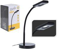 Светильник настольный LED, H38 см, металл, черный