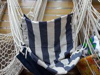 Кресло-гамак подвесное тканевое 200X80cm, мах100kg