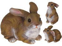 купить Статуэтка Кролик сидящий 22.5X16cm, керамика, 3 позиции в Кишинёве