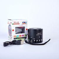 Boxa portabila, WSTER, Bluetooth 4.0, Metal, Culori in asortiment, USB/SD Card