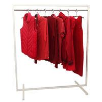 cumpără Cuier pentru haine din oţel, 1200x600x1400mm (9001) în Chișinău