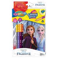 Карандаши цветные двусторонние - Colorino Disney Frozen 2