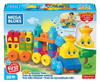 "Constructor ""Trenul muzical"" Mega Bloks, cod FWK22"