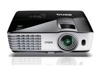 "DLP XGA   Projector 2800Lum,  5000:1 BenQ ""MX613ST"", ST(55""@1m) with 1.2x zoom, Black, 2.65kg (Native/Supported Resolution: XGA (1024x768)/640x480 to 1600x1200; Aspect Ratio: 4:3 Native, 16:9 Selectable; Brightness: 2800 ANSI lumens; Contrast Ratio: 5000:1; Image Size: 27"" to 300""; Throw Ratio: 0.9-1.08 (55""@1m); Lamp/Lamp life: 210W, 4000/5000 hours (Normal/Economic mode); Operational Noise: 30/26 dB (Normal/Economic mode); 2.65 kg; Analog RGB: D-sub 15 pin,  Digital: HDMI, S-Video: Mini Din 4 pin, Composite Video: RCA, 10 Watt Speaker x 1, USB connector: Type A x1 (USB reader); Type mini B x1 (USB display))"