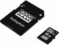 Сard de memorie Goodram M1AA 16GB microSDHC Class10 UHS-I + SD adapter (M1AA-0160R12)