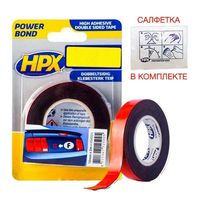 HPX POWER BOND Double sided acrilic tape 1.1 mm