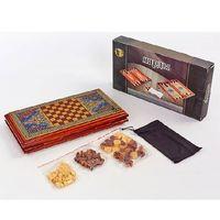 Essa Toys Шашки и шахматы и нарды 3 в 1