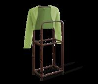 Вешалка для костюма напольная коричневый В1-82