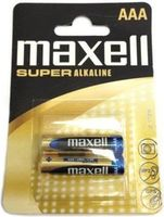 MAXELL Alcaline Battery  LR03/AAA, 2pcs, Blister pack