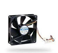 Вентилятор для корпуса ПК Chieftec AF-1225PWM, 120x120x25 мм, шарикоподшипник, 1650 об / мин, <32 дБ, ШИМ, 4 контакта / Molex