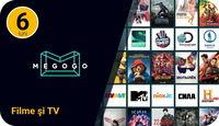 Абонемент MEGOGO Кино и ТВ на 6 месяцев