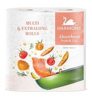 Prosoape hârtie Harmony Absorbent Practik Multi & Extralong XXL 2 str. 35m*2