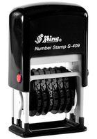 SHINY Нумератор-мини SHINY S-409/6 черный