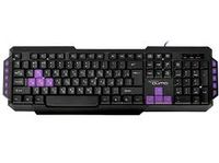 Tastatură pentru jocuri Qumo Desert Eagle Pro, Multimedia, 104 + 10 taste, Negru, USB