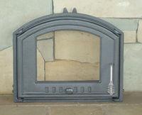 Дверца чугунная со стеклом левая DCHS3