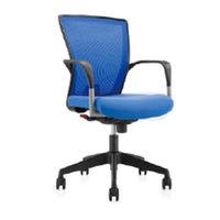cumpără Scaun de birou cu spate din plasă albastru, şezut albastru în Chișinău