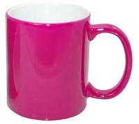 Кружка для сублимации хамелеон глянцевая пурпурная 11oz