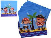 Set servetele Pirates 16buc 33Х33cm