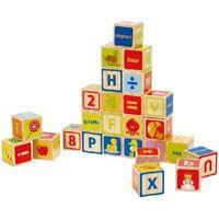 Hape Деревянная игрушка ABC Blocks