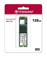 M.2 NVMe SSD 128GB  Transcend 110S