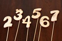 Цифры на палочке