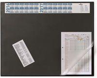 Durable Подложка DURABLE 520x650мм календарь черная