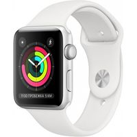 Apple Watch 3 38mm/Silver Aluminium Case, MTEY2 GPS