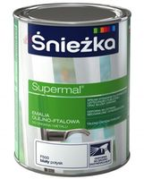 Эмаль Sniezka Supermal 5 L, белая глянцевая