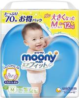 Подгузники-трусики Moony M (6-12 kg) 72 шт