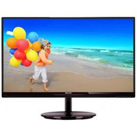 Monitor Philips 224E5QDAB G.Black/Cherry