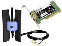 Linksys WMP300N-DE, PCI Wireless Adapter 300Mbps
