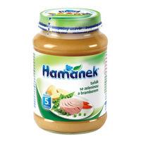 Hamanek пюре тунец с овощами и картошкой 5+ мес., 190 г