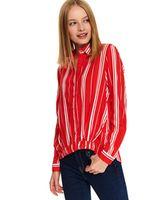 Блуза TOP SECRET Красный в полоску sbd1158