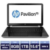 Ноутбук HP Pavilion 15-n083sa Black