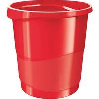 Esselte Корзина для мусора ESSELTE пластик 14л красная