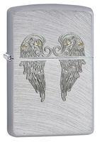Zippo 29069 Angel Wings Chrome Arch