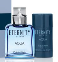 Ck Eternity Aqua M Edt 100ml+75DS Set