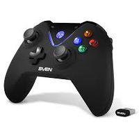 Gamepad wireless SVEN GC-5070, 4 axe, D-Pad, 2 mini joystick-uri, 11 butoane