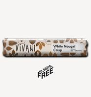 Batonaș de ciocolată albă Nougat Crisp Vivani 35 g