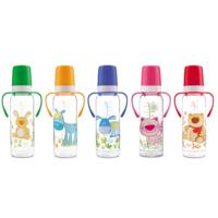 Canpol  бутылочка пластиковая с ручкой Ферма, 250мл