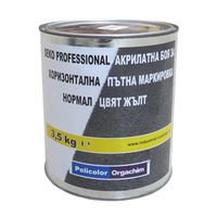 Оргахим Краска Deko Professional Normal Желтая 3.5кг