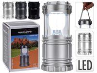 Фонарь универсальный 6 LED, H12.5cm, пластик, 3 цвета