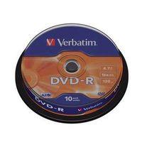 DVD-R 4,7Gb 16x Cake 10 pcs VERBATIM