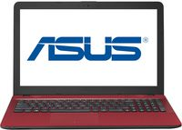 """NB ASUS 15.6"""" X541NC Red (Pentium N4200 4Gb 1Tb) 15.6"""" HD (1366x768) Non-glare, Intel Pentium N4200 (4x Core, 1.1GHz - 2.5GHz, 2Mb), 4Gb (1x 4Gb) PC3-12800, 1Tb 5400rpm, GeForce 810M 2Gb, HDMI, No ODD, 100Mbit Ethernet, 802.11n, Bluetooth, 1x USB 3.1 Type C, 1x USB 3.0, 1x USB 2.0, Card Reader, Webcam, Endless OS, 3-cell 36 WHrs Li-Ion Battery, 2.0kg, Red"""