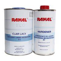 Ranal Лак Eco 2+1 Бесцветный 1л + отвердитель 0.5л