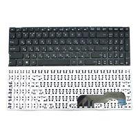"""Keyboard Asus X541, X541LA, X541S, X541SA, X541UA, w/o frame """"ENTER""""-small ENG/RU Black"""