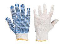 RND400 - Перчатки трикотажные с точечным (PVC) покрытием