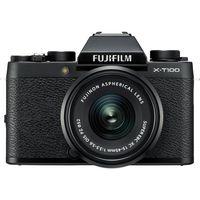 Фотокамера FJIFILM X-T100 Kit XC15-45mm Black