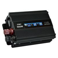 Инвертор 500Вт 12В постоянный ток 220В переменный ток