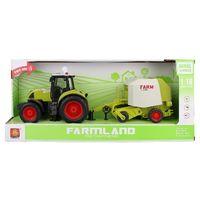 """1:16 Инерционный трактор """"Trailered Farm Tractor"""""""